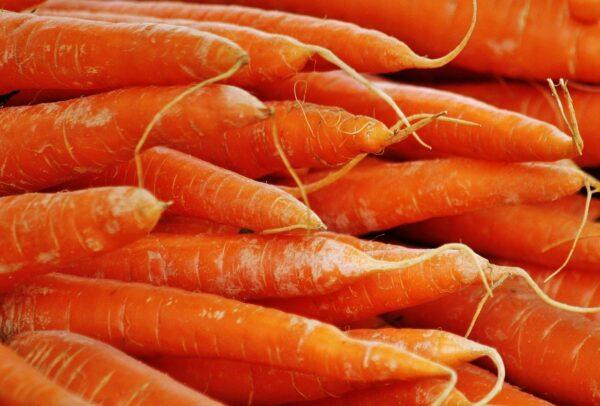 carrots, orange, vegetables